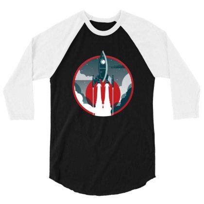 The Voyage 3/4 Sleeve Shirt Designed By Feniavey