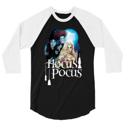 The Sanderson Sisters 3/4 Sleeve Shirt Designed By Feniavey