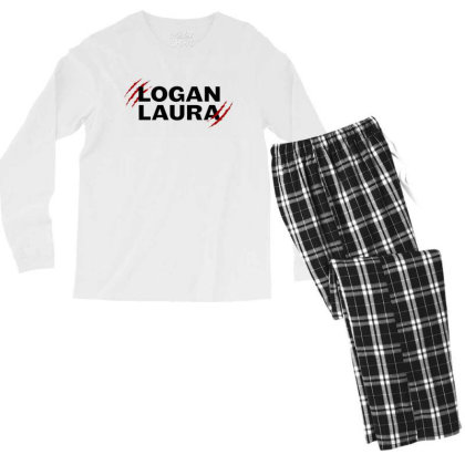 Team Logan Laura Men's Long Sleeve Pajama Set Designed By Feniavey