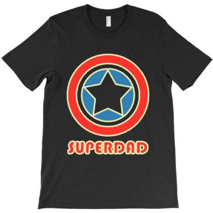 Superdad T-shirt Designed By Feniavey
