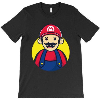 Super Mario T-shirt Designed By Feniavey