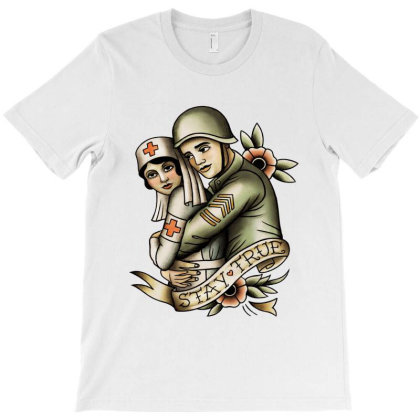 Stay True T-shirt Designed By Feniavey