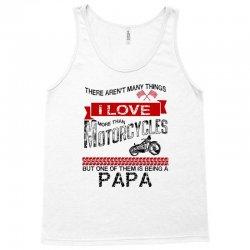 This Papa Loves Motorcycles Tank Top | Artistshot