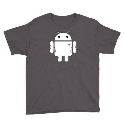 Baydroid Baymax Android Youth Tee Designed By Chilistore