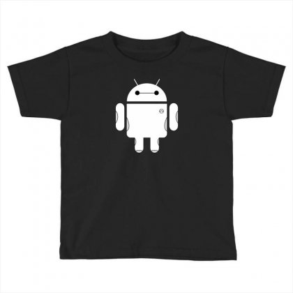 Baydroid Baymax Android Toddler T-shirt Designed By Chilistore