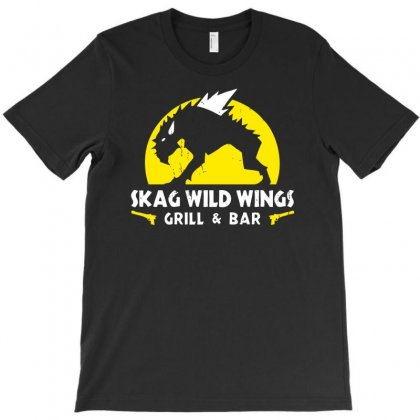Skag Wild Wings T-shirt Designed By Chilistore
