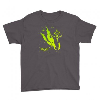 Wolf Link Youth Tee Designed By Mdk Art