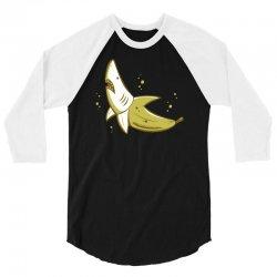BANANA SHARK 3/4 Sleeve Shirt | Artistshot