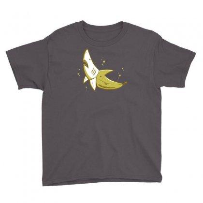 Banana Shark Youth Tee Designed By Mdk Art