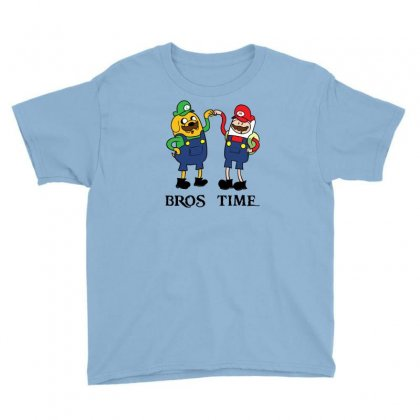 Bros Time Youth Tee Designed By Chilistore