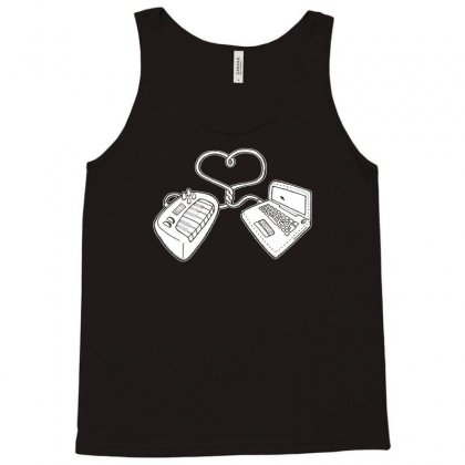 Usb Love Tank Top Designed By Ditreamx