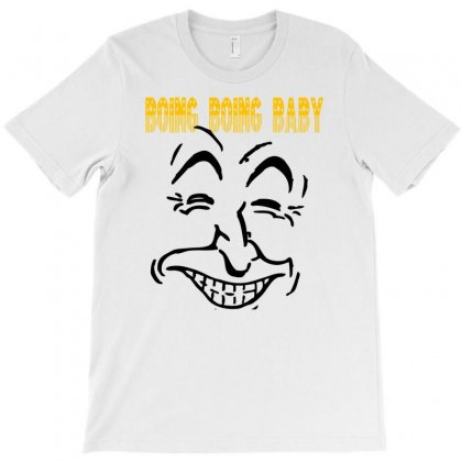 Boing Boing Baby T-shirt Designed By Ditreamx