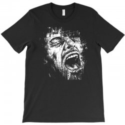 Scream Face T-Shirt | Artistshot