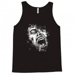 Scream Face Tank Top | Artistshot