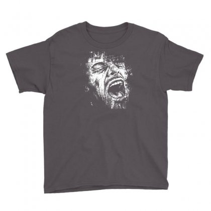 Scream Face Youth Tee Designed By Mdk Art