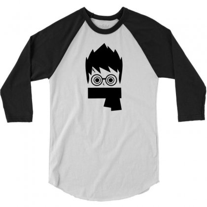 Potter Head 3/4 Sleeve Shirt Designed By Specstore