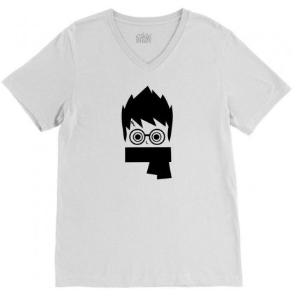 Potter Head V-neck Tee Designed By Specstore