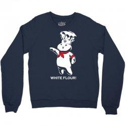white flour dough boy Crewneck Sweatshirt | Artistshot