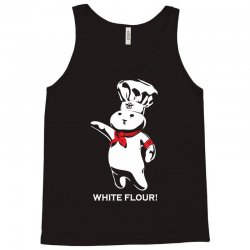 white flour dough boy Tank Top | Artistshot