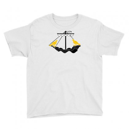 Boat Of Lisboa Lisbon Youth Tee Designed By Mdk Art