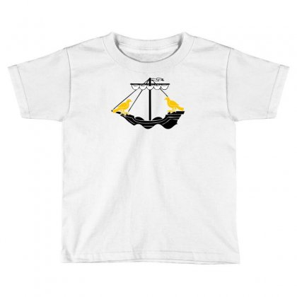 Boat Of Lisboa Lisbon Toddler T-shirt Designed By Mdk Art