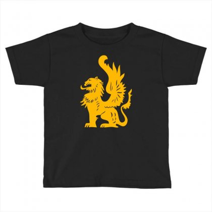 Griffin Griffon Gryphon Toddler T-shirt Designed By Mdk Art