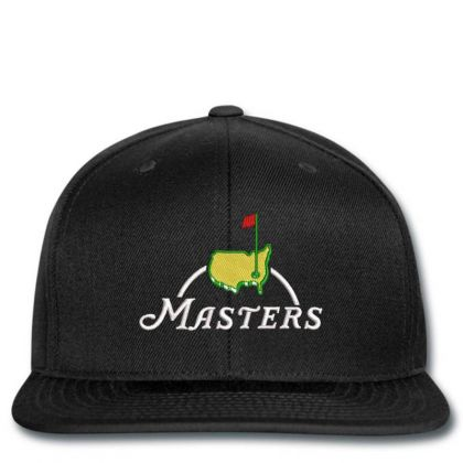 The Master Embroidery Embroidered Hat Snapback Designed By Madhatter