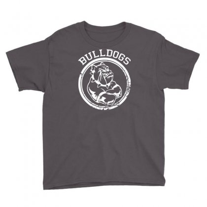 Bulldog Sports Team Youth Tee Designed By Mdk Art