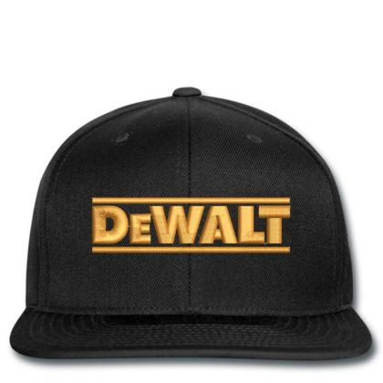 Dewalt Embroidery Embroidered Hat Snapback Designed By Madhatter