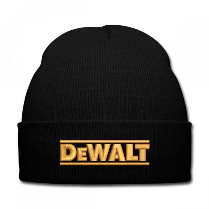 Dewalt Embroidery Embroidered Hat Knit Cap Designed By Madhatter