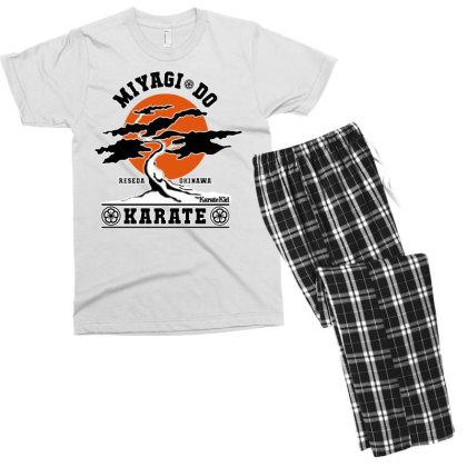 Karate Kid   Miyagi Do Men's T-shirt Pajama Set Designed By Frizidan