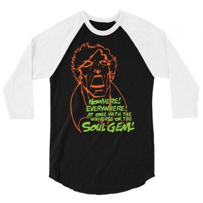 Adam Warlock & The Soul Gem 3/4 Sleeve Shirt Designed By Chilistore