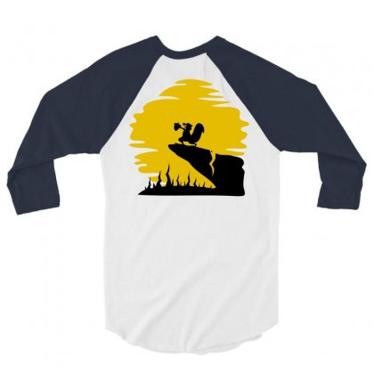 Ice Age King 3/4 Sleeve Shirt Designed By Chilistore