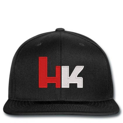 Heckler And Koch Embroidered Hat Snapback Designed By Madhatter