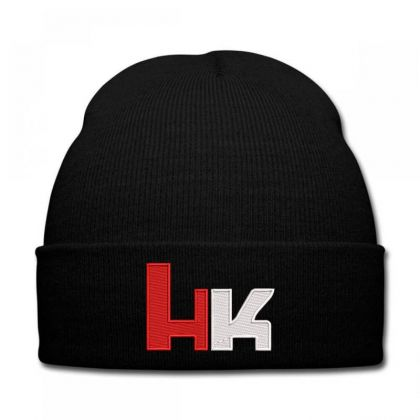 Heckler And Koch Embroidered Hat Knit Cap Designed By Madhatter