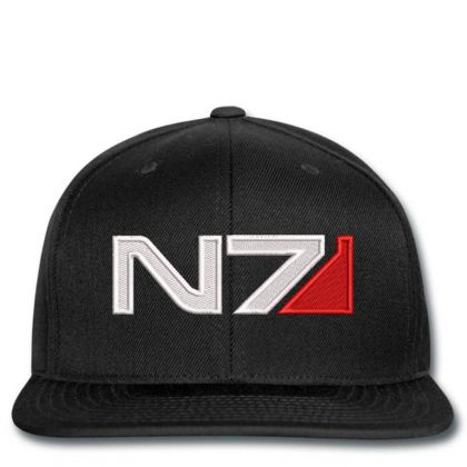 Mass Effect N7 Logo Embroidered Hat Snapback Designed By Madhatter