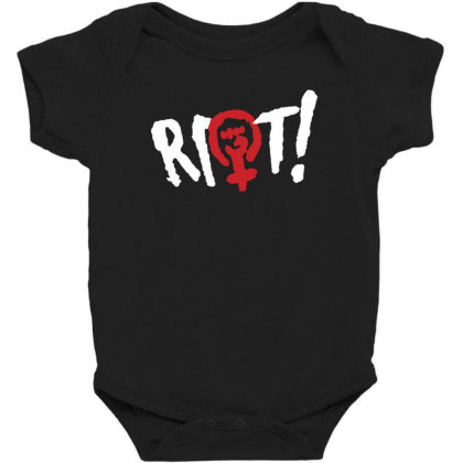 Riot! Baby Bodysuit Designed By Blqs Apparel
