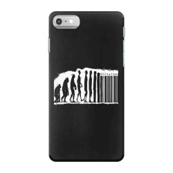 evolution barcode iPhone 7 Case | Artistshot