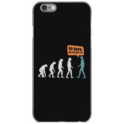 evolution   go back iPhone 6/6s Case   Artistshot