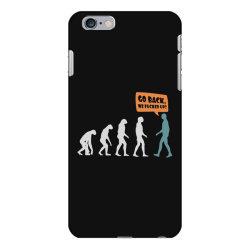 evolution   go back iPhone 6 Plus/6s Plus Case   Artistshot
