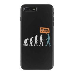 evolution   go back iPhone 7 Plus Case   Artistshot