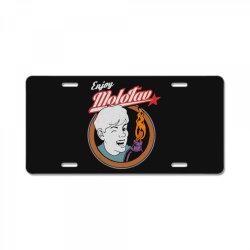 enjoymolotov License Plate | Artistshot