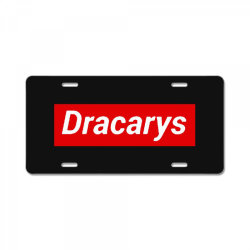 dracary License Plate | Artistshot