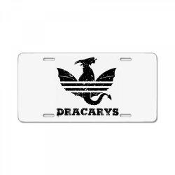dragonwear License Plate   Artistshot