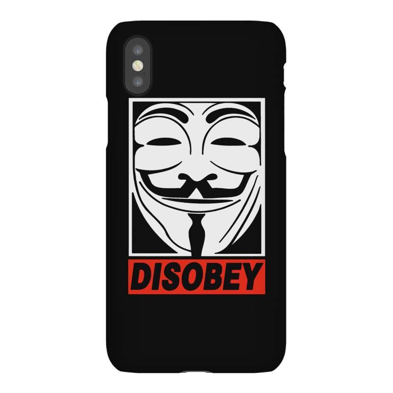 Disobey Anonymous Iphonex Case | Artistshot