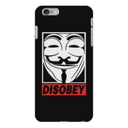 disobey anonymous iPhone 6 Plus/6s Plus Case | Artistshot