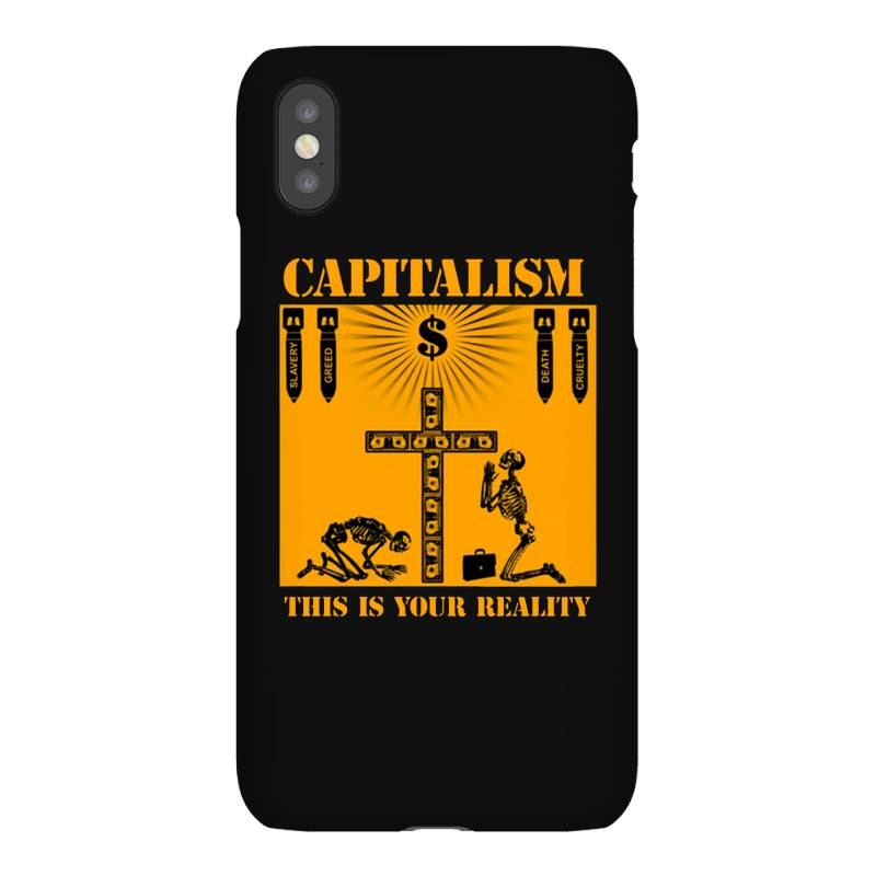 Capitalism   This Is Your Reality Iphonex Case | Artistshot