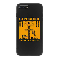 capitalism   this is your reality iPhone 7 Plus Case | Artistshot
