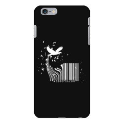 bird barcode iPhone 6 Plus/6s Plus Case | Artistshot