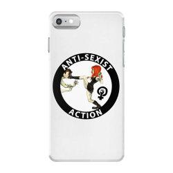 anti sexist action iPhone 7 Case | Artistshot